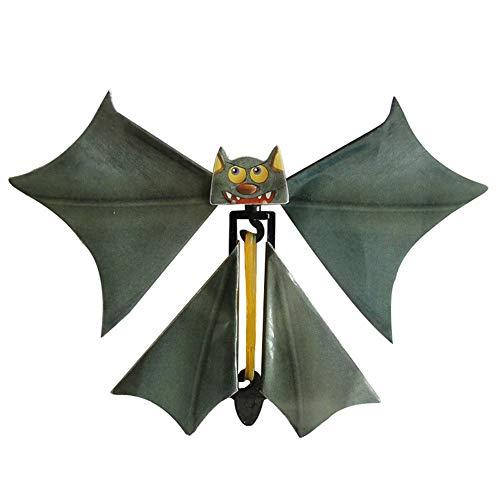 jieGREAT Räumungsverkauf Magische Fliegende Fledermaus Flatterkarte Streich Fliegende Papierschläger lustiges Halloween-Karten-Geschenk