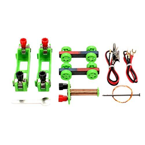 TOYANDONA - Kit de experimentos electromagnéticos para niños, experimentos físicos de Electricidad, Juguete Educativo de Ciencia para Estudiantes (Color al Azar)