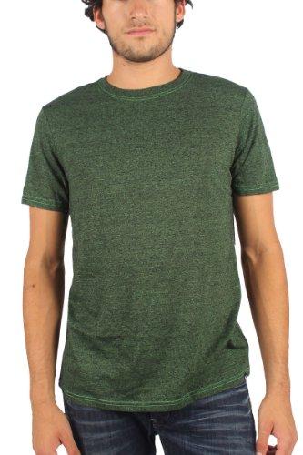 Hurley - - Herren Staple Trib Mock T-Shirt Electric Grn/Blk