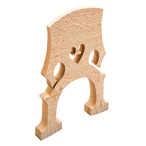 FITYLE STEG für 3/4 4/4 1/4 1/2 Cello, Cello Brücke Bridge Holz - 1/4 -
