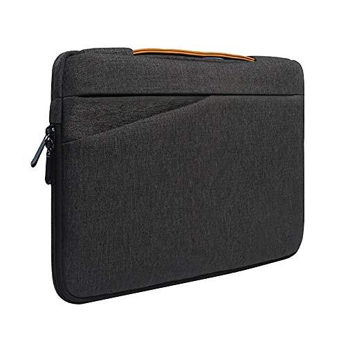 """Preisvergleich Produktbild 13, 3-14 Zoll Laptoptasche mit Griff Tragbare Laptoptasche Sleeve Hülle Schutztasche für 13"""" MacBook Air / MacBook Pro / Pro Retina Sleeve – Dunkelgrau"""