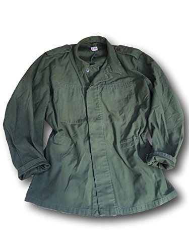 swedish-army-issue-m48-plain-olive-fatigue-jacketshirt
