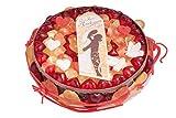 Hochzeitstorte, Fruchtgummi-Torte zur Hochzeit, Herzen-Fruchtgummi, Mellow Herzen, Fruchtgummi-Schnüren, 860g