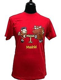 dee185490 ZiNGS Camiseta Tapas Toro y torero de Adulto