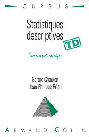 Statistiques descriptives par Gérard Chauvat