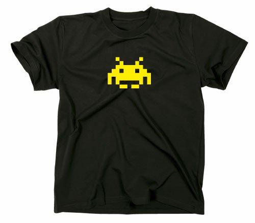 Space Invaders Retro T-Shirt, Atari, C64,eighties,nerd