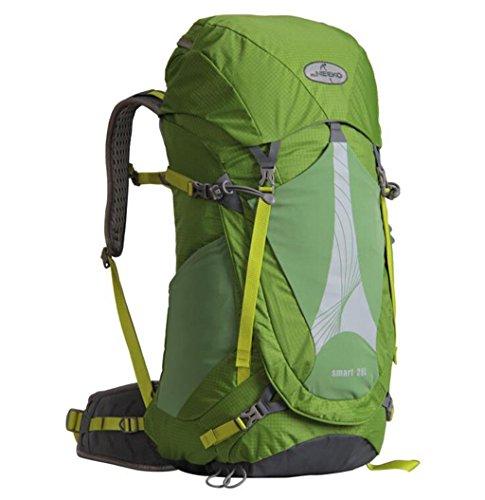 Bergsteigen Tasche Schulterrucksack Männer lässig im Freien Wanderrucksack wasserdichte Tasche mit großer Kapazität 28l Grün