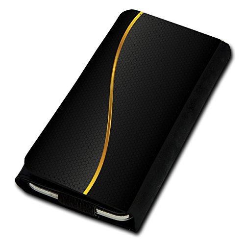 Book Style Flip Handy Tasche Case Schutz Hülle Foto Schale Motiv Etui für Kyocera KC-S701 Torque - Flip U1 Design5
