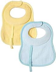 Chicco Bavaglina in Tessuto Extra Assorbente, Bimbo, 2 Pezzi, Colori Assortiti