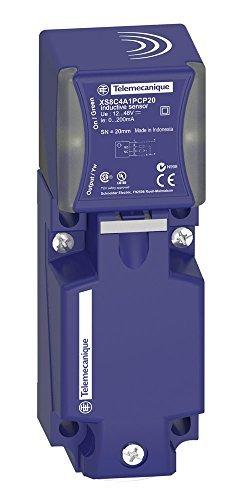 Telemecanique Sensors XS9C4A2A1G13 Induttivo Sensore Di Prossimità Di Plastica, Forniture Scatola PBT, 3 Fili, 25 mm, Distanza Di Rilevamento Nominale, 24 Vdc, Terminale a Vite E Ghiera, 40 x 40 x Form 117 mm