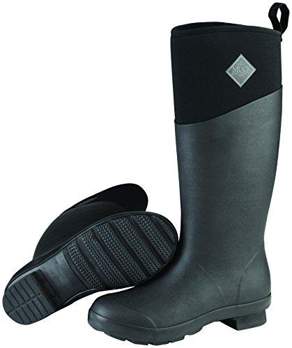 Muck Boots Tremont Wellie Matte Tall, Stivali di Gomma Donna Nero (Black / Black)