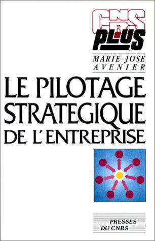 Pilotage stratégique de l'entreprise par Marie-Josée Avenier