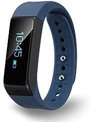 Diggro I5 Plus Oled Pulsera Smart Bluetooth (Pantalla Táctil, Podómetro, Seguimiento de calorías, Sleep Monitor) para Android IOS (Azul)