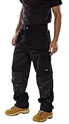 Premium Multi-purpose Trouser Black 42r - Work Wear Ppe - Trousers