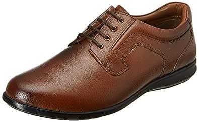 Burwood Men's Tan Leather Formal Shoes-6 UK/India (40EU) (BW 69)