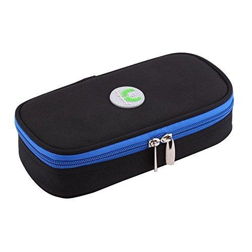 Bolsa Portátil de Refrigeración de Insulina Organizador Diabético Cuidado de la Caja de Cuidado Médico Jeringas de Camping Bolsa de Almacenamiento ( Color : Negro )