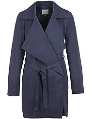 Eight2Nine Damen Dünner Trenchcoat Mantel