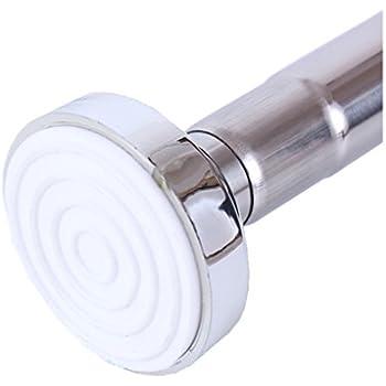 Hervorragend Duschvorhangstange hochwertige Duschstange ohne Bohren KU77