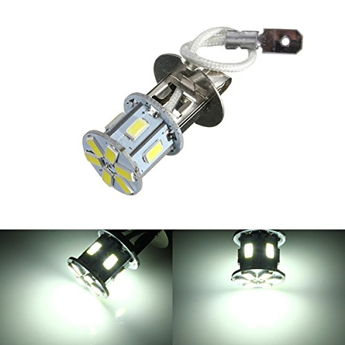 H3 12LED 5630 SMD 180LM 12V Lamp Bulb Auto Fendinebbia Tail Driving Head Light