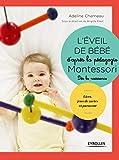 L'éveil de bébé d'après la pédagogie Montessori : Livre, jeux de cartes et paravent