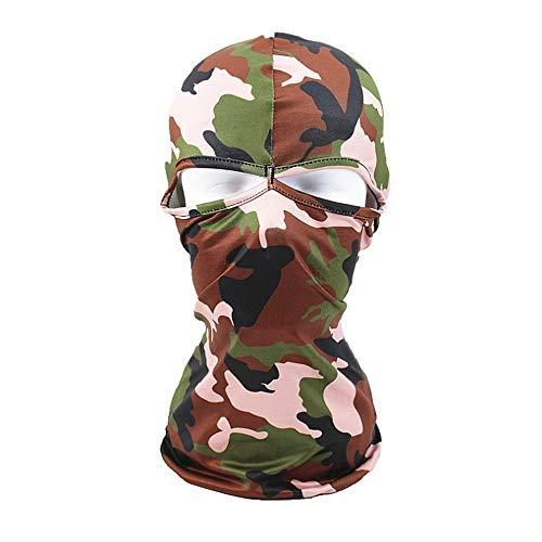 Helm Brille Camouflage Windproof Balaclava Ski Maske Kalte Wetter Gesichtsmaske Motorrad Halswärmer Balaclava Hood Ultimative thermische Retention im Freien Super komfortable hypoallergene Feuchtigkei