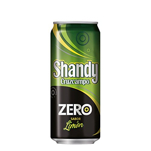 Cruzcampo Shandy Zero Lemon Beer Can - 330 ml