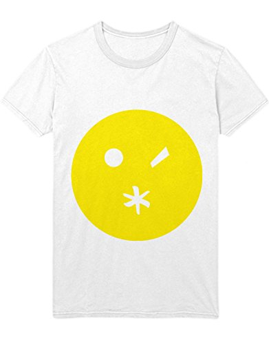 Haare Youth T-shirt (Hypeshirt T-Shirt Preacher arseface B000011 Weiß XXL)