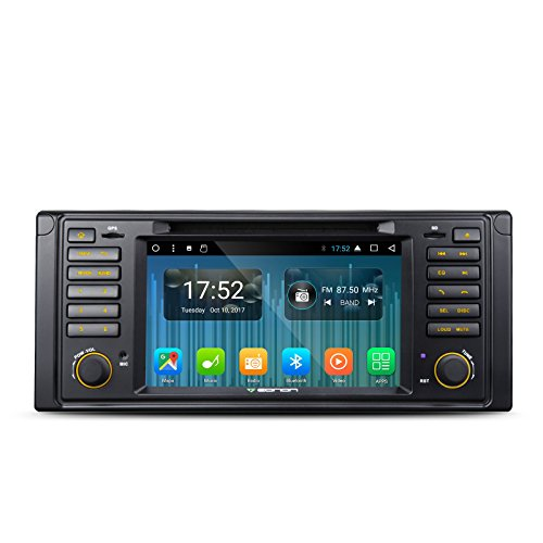 Eonon ga8201 a Android 7.1 Octa Core 2 GB 32 GB Auto Stereo DVD GPS Navigation Sat Nav für BMW E39 5 Serie 1995–2002 Auto CD DVD Player unterstützt Bluetooth Touch Display Radio DAB + WiFi/4G AV OUT Subwoofer (Bmw Navigation Cd)