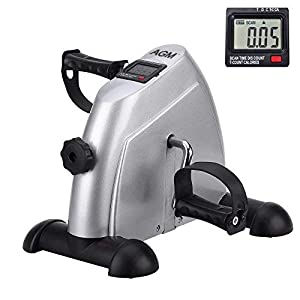 Pedal Exerciser Mini Exercise Bike Indoor Fitness Arm and Leg Digital Display