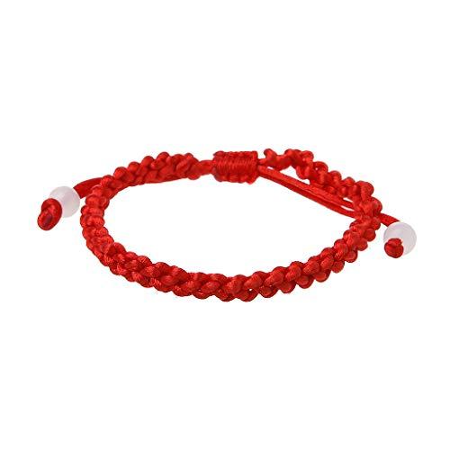 CADANIA Handmade Lucky Kabbalah Red String geflochtene Freundschaft Armbänder Jewerly