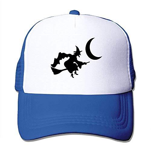 nd-Fliegen-Hexen-Hut-Netz-Baseballmütze Unisexeinstellbarer justierbarer Fernlastfahrer-Hut RF6157 ()