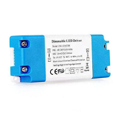 Conducteur de Dimmable LED de VIPMOON 5-7W DC pour le plafonnier mené d'ampoules