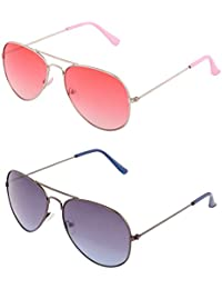 ADDON EYEWEAR Brand UV Protected Unisex Aviator Sunglasses For Men Women Boys And Girls Non Polarized Goggle 2017... - B077D6VJ7T