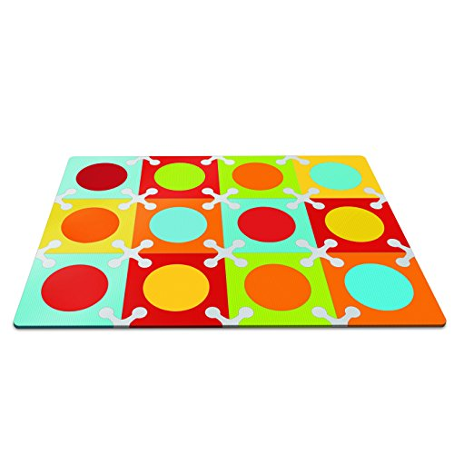 Skip Hop Playspot - Alfombra, multicolor