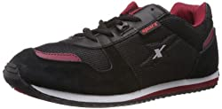 Sparx Mens Black and Red Running Shoes - 7 UK (SM-119 )
