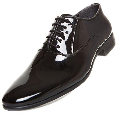 moking Schuhe Herren Hochzeitsschuhe (43) (Smoking Schuhe)