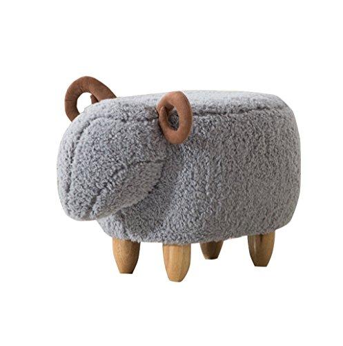 FSML-Fußhocker & Polsterhocker Kreative für Schuhhocker Home Storage Test Schuhe Footer Chair Bench (Länge: 63cm, Breite: 33cm, hoch 36cm) (Farbe : K)