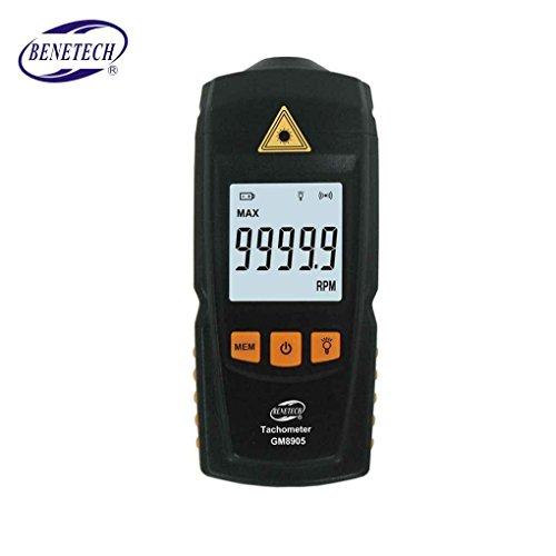 censhaorme GM8905 Digital LCD-Tachometer-berührungs RPM Tach Test-Meter-Motordrehzahlanzeiger-Prüfvorrichtung