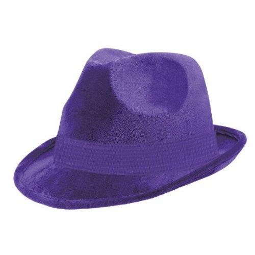 Amscan Fedora Hat (lila) (Mädchen Lila Fedora)