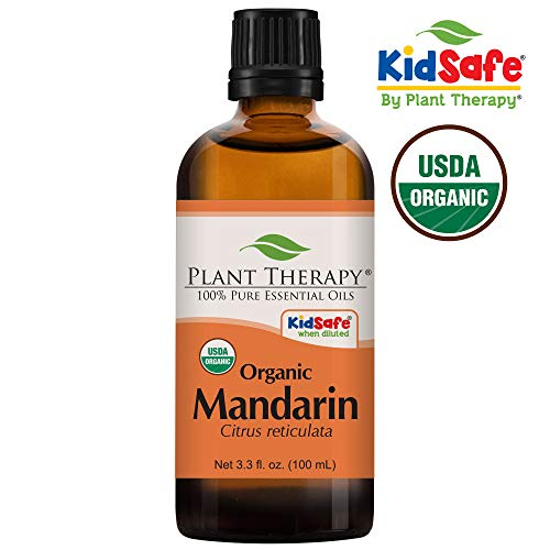 Mandarin Organic 100 mL Essential Oil 100% Pure, Undiluted, Therapeutic Grade