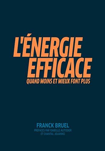 L'Energie efficace : Quand moins et mieux font plus. Préfaces par Isabelle Autissier et Chantal Jouanno