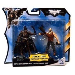 Mattel DC Batman Dark Knight Rises Movie-Action-Figur Batman Bane 2Pack