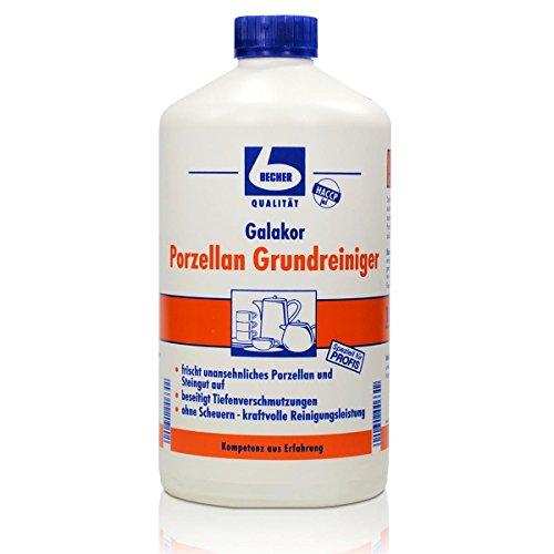 El Dr. Cup Galakor litro de porcelana 1 limpiador -elimina las impurezas profundas
