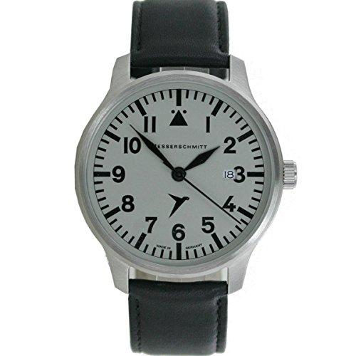 Aristo Hombre Messerschmitt Reloj Planeador Reloj Me de 42S piel
