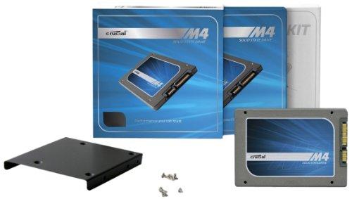 Crucial M4 Bracket 64GB interne SSD Festplatte (6,4 cm (2,5 Zoll), SATA 600)