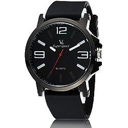 Man, quartz watch, fashion, personality, classic, silica gel, M0128