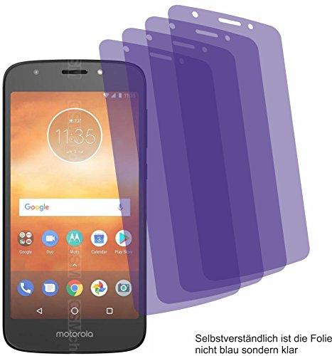 4X ANTIREFLEX matt Schutzfolie für Motorola Moto E5 Play Go Bildschirmschutzfolie Displayschutzfolie Schutzhülle Bildschirmschutz Bildschirmfolie Folie