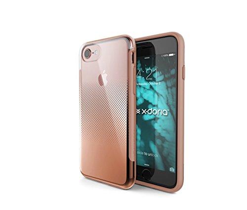 Coque élégante de X-Doria pour iPhone 7 (Revel) Mode, élégance et protection, Rose Or Rose Or