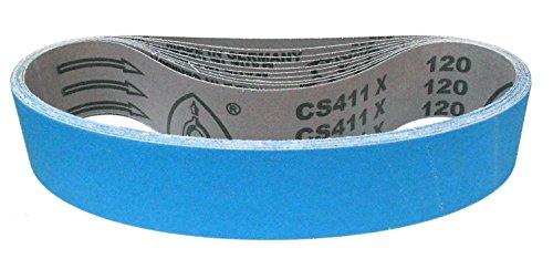 Klingspor CS 411 X Schleifband | 50 x 686 mm | 10 Stück | Körnung: P120