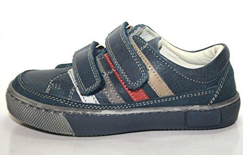 Wal Kid Cherie Kinder Schuhe Jungen 286 Halbschuhe Blau